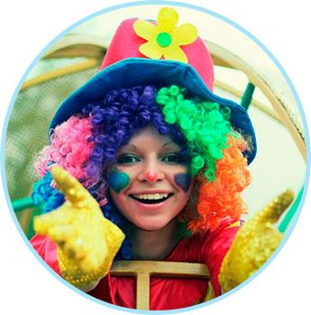 Шоу клоунов на детский праздник